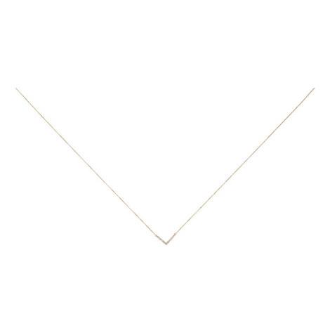 Tiny Pavé Necklace, ${color}