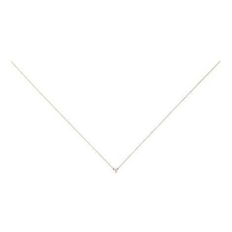 Diamond Cluster Necklace, ${color}