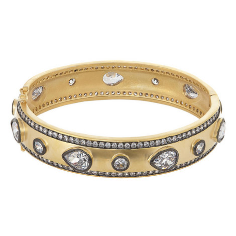 Crystal Embellished Bangle, ${color}