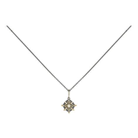 Embellished Pendant Necklace, ${color}