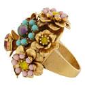 Flower Cluster Ring, ${color}