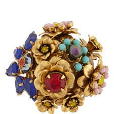 Flower Cluster Ring