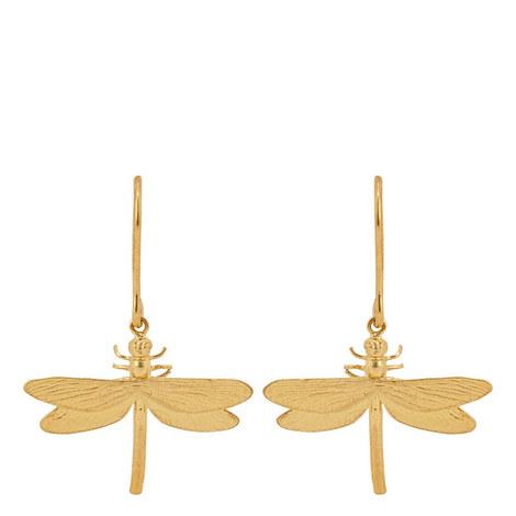Dragonfly Hook Earrings, ${color}