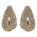 Glitter Drop Earrings, ${color}