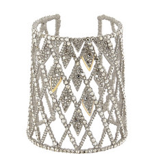 Crystal Encrusted Cuff Bracelet
