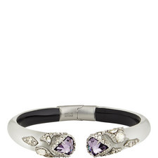Hinge Crystal Bangle