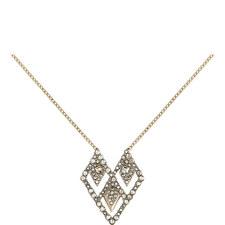Crystal Embellished Pendant Necklace