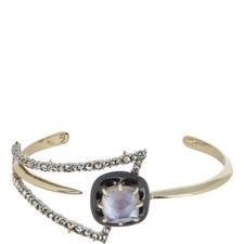 Abstract Petal Cuff Bracelet
