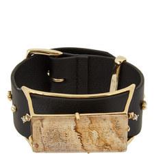 Jasper Leather Bracelet