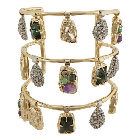 Swinging Charm Cuff Bracelet, ${color}