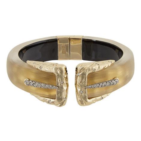 Snake Detail Hinge Bracelet, ${color}