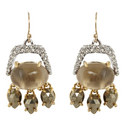 Crystal Drop Earrings Small, ${color}
