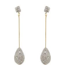 Pavé Drop Earrings