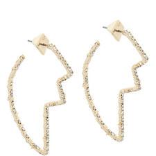 Tulip Hoop Earrings