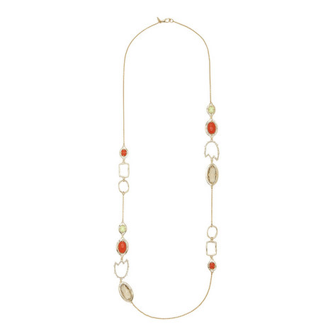 Abstract Station Necklace, ${color}