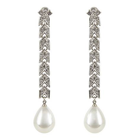 Cultura Pearl Clip-On Earrings, ${color}