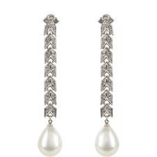 Cultura Pearl Clip-On Earrings