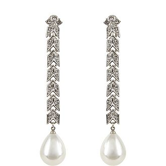 Cultura Pearl Clip-On Earrings