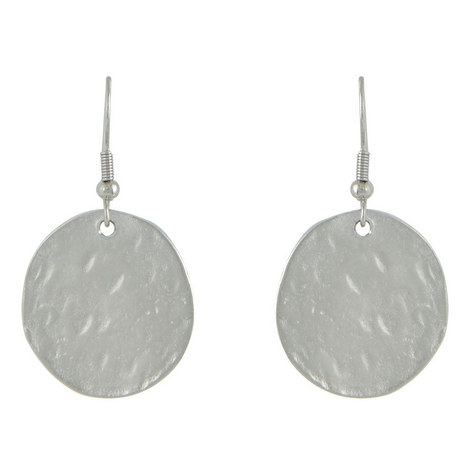 Small Disc Earrings, ${color}