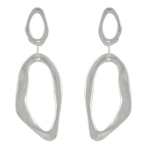Open Link Drop Earrings, ${color}