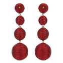 Bauble Drop Earrings, ${color}