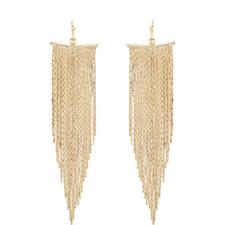 Fringe Chain Earrings