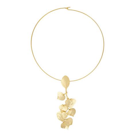 Leaf Choker Necklace, ${color}
