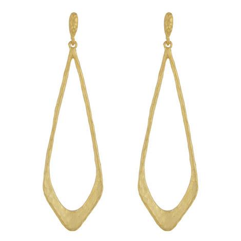 Open Drop Earrings, ${color}