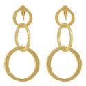 Link Chain Drop Earrings, ${color}