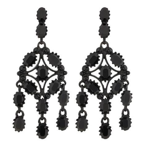 Clip-On Chandelier Earrings, ${color}