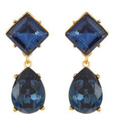 Sapphire Teardrop Earrings