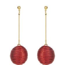 Corded Ball Drop Earrings