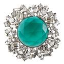 Emerald Sunburst Brooch, ${color}
