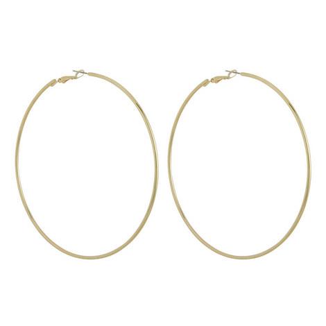 Large Hoop Earrings, ${color}