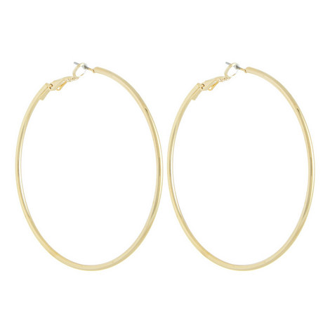 Small Hoop Earrings, ${color}