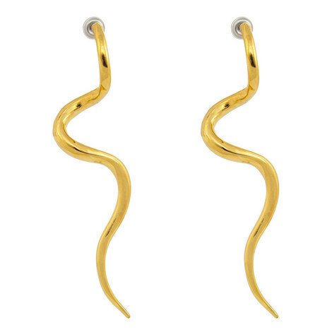 Swirl Post Earrings, ${color}