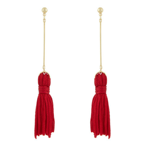 Tassel Earrings Small, ${color}
