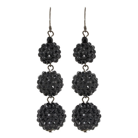 Pavé Ball Earrings, ${color}