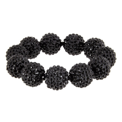 Jet Pavé Ball Bracelet, ${color}