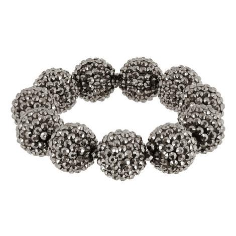 Jet Pavé Ball Bracelet, ${color}