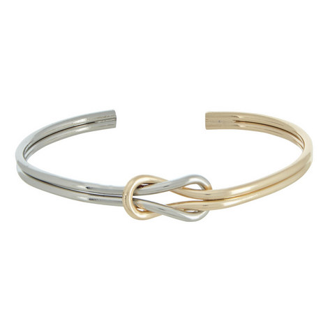 Knotted Bangle Cuff, ${color}