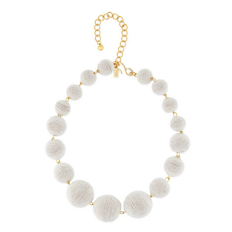 Thread Ball Necklace, ${color}