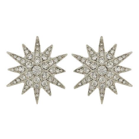 Crystal Star Earrings, ${color}