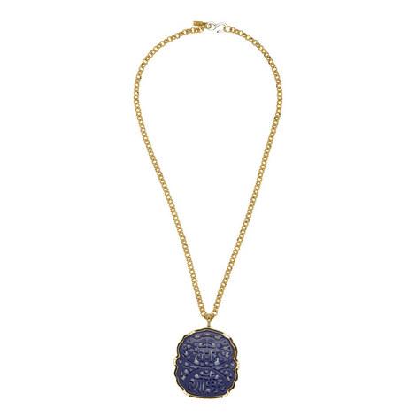 Lapis Pendant Necklace, ${color}