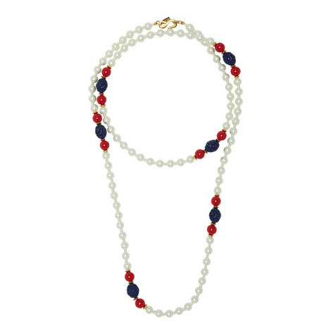 Garnished Pearl Necklace, ${color}
