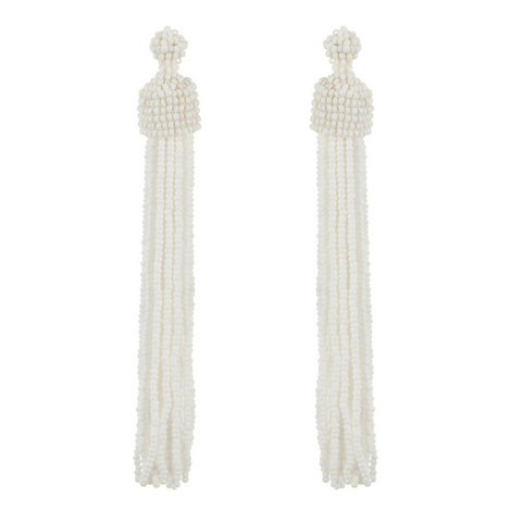 Short Tassel Earrings , ${color}