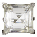 Jet Square Crystal Ring, ${color}