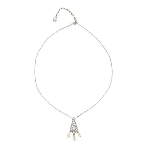 Pearl Pendant Necklace, ${color}