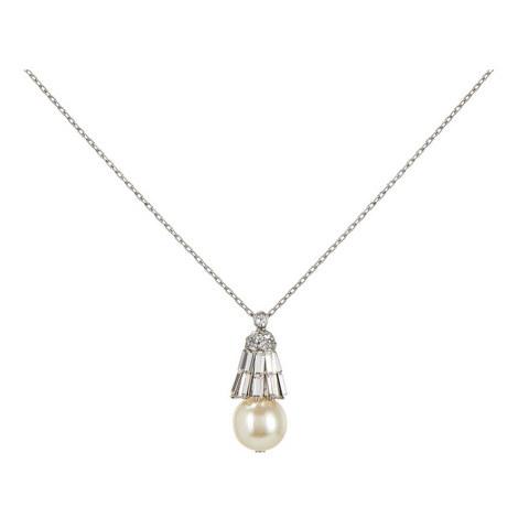 Pearl Drop Necklace, ${color}