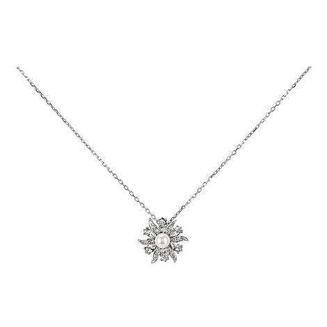 Floral Pearl Necklace, ${color}